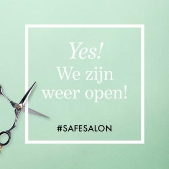 Yes! We zijn weer open!